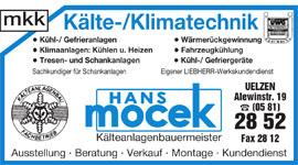 Mocek - Kälte- und Klimatechnik